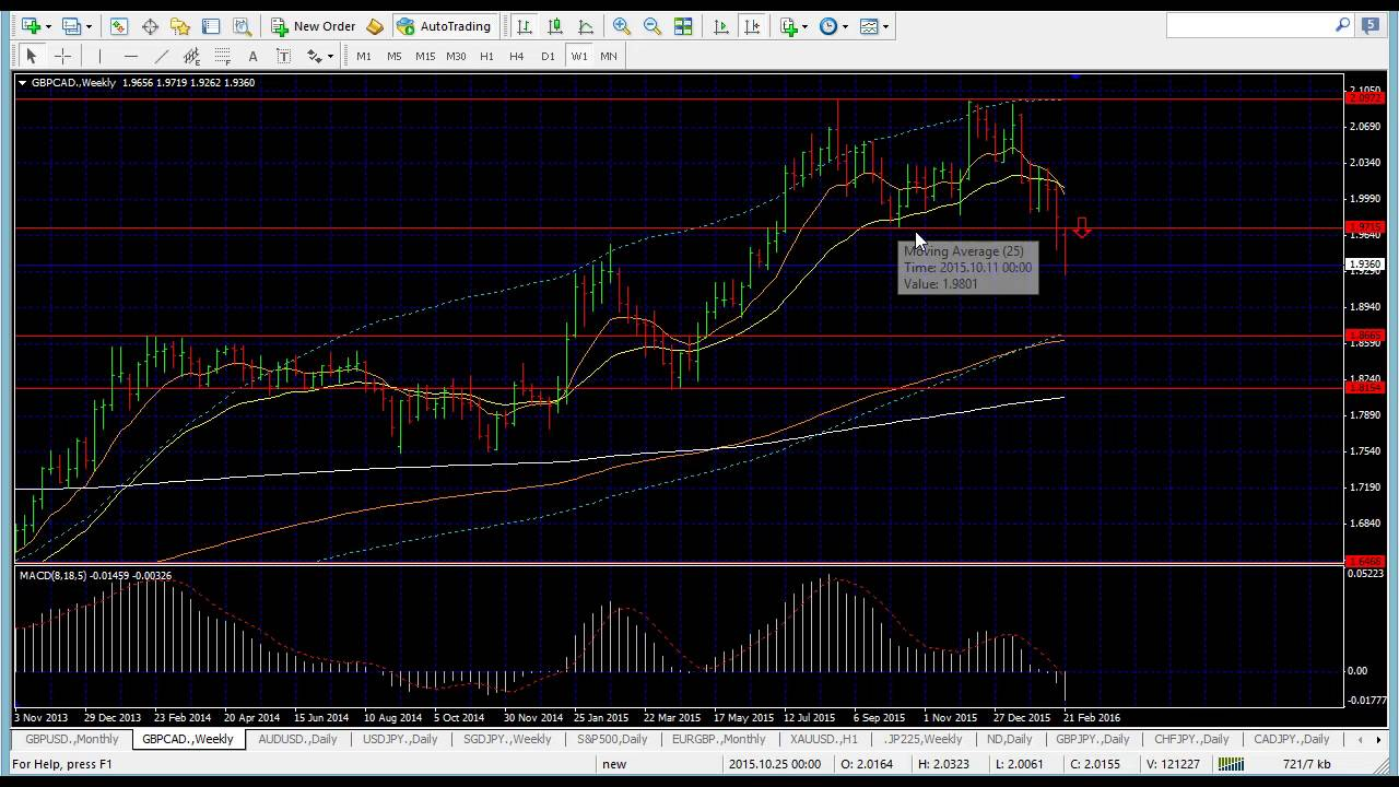 Forex market review
