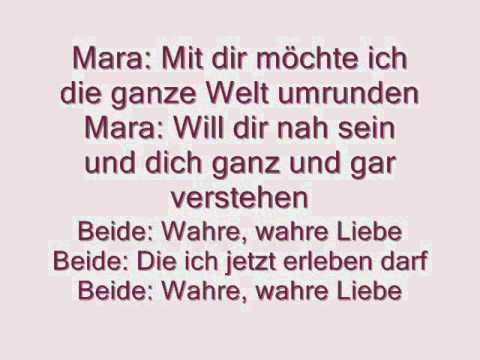 Haus Anubis- Wahre Liebe with Lyrics