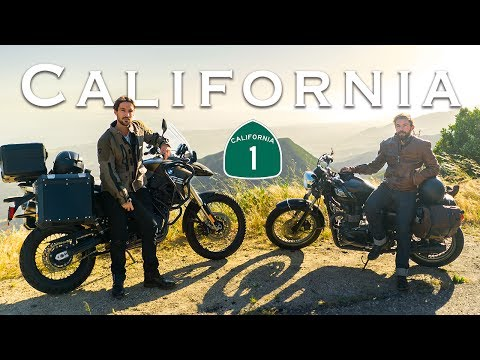 Exploring California by Motorcycle | LA to Big Sur Moto Camp