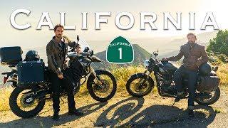 Exploring California by Motorcycle | LA to Big Sur Moto Camping