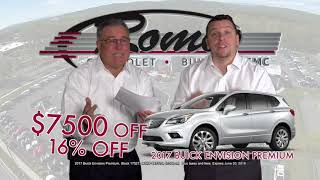 Drastic Discounts | Up To $17,600 OFF | Buick Envision & Chevy Silverado | RomeoCars.com