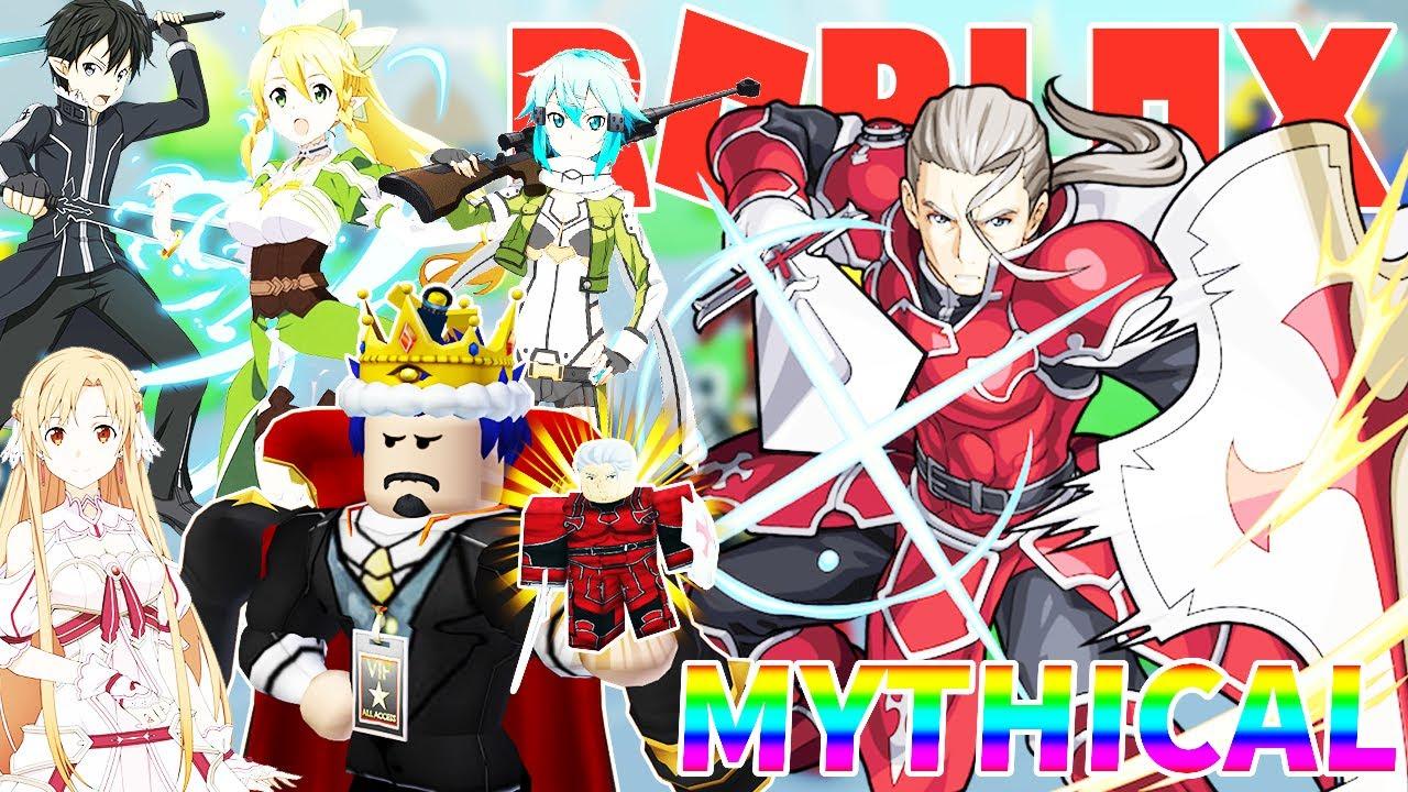 Roblox- ĐƯỢC 2 NHÂN VẬT THẦN THOẠI MYTHICAL HEATHCLIFF ''KAYABA AKIHIKO'' - Anime Fighters Simulator