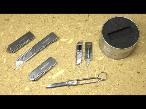 Latest Keychain and Utility Knife Finds