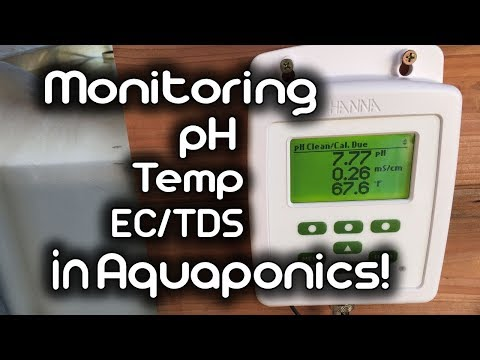 Monitoring PH, Temp, And EC/TDS In Aquaponics!