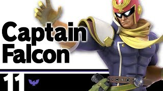 11: Captain Falcon - Super Smash Bros. Ultimate