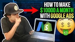 How To Make $10,000 A Month With Google Ads ( Google Adword Blueprint)