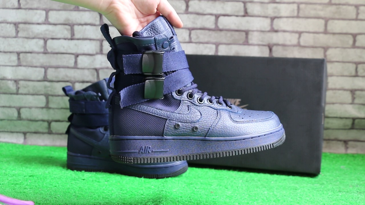 "the best attitude f994e 5d117 Nike Special Field Air Force 1 ""Binary Blue"" HD review"