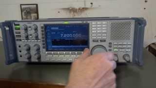 icom ic r9500 op 40 meter