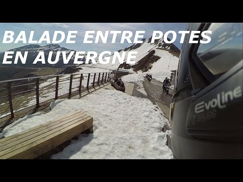 [WEB MOTO] Balade entre potes en Auvergne Mai 2016