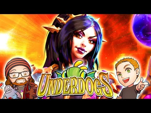 The Underdogs | MFPallytime, Mewnfarez & Horsepants! Heroes of the Storm