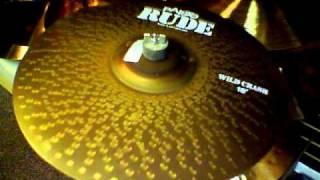 "Paiste Rude Series 18"" Wild Crash Cymbal"