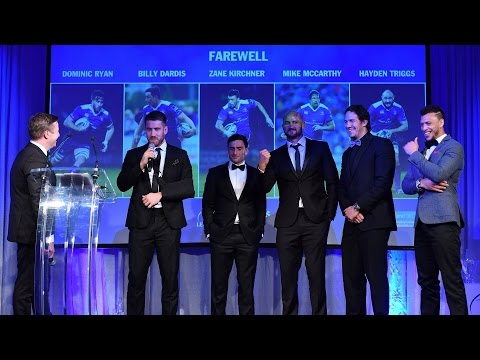 Farewell to Departing Players - 2017 Leinster Rugby Awards Ball - Part 2