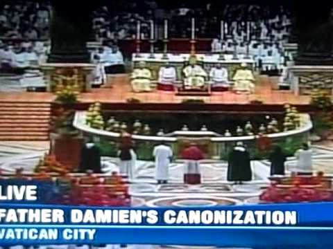Canonization of Father Damien (part 2)
