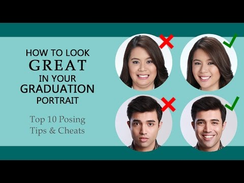 How To Look Great In Your Graduation Portrait - Top Ten Posing Tips And Cheats