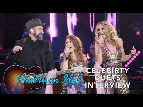 'American Idol' Celebrity Duets Week 1 Interview
