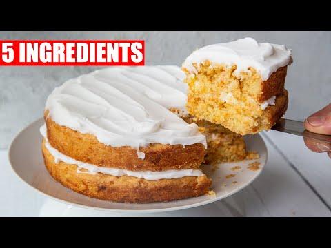5 INGREDIENT CARROT CAKE | VEGAN LOCK DOWN DESSERT