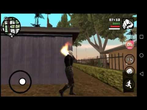 Gta San Andreas Android||mod Del Vengador Fantasma||