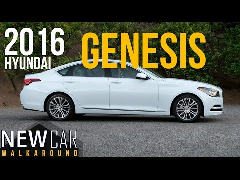 2016 HYUNDAI GENESIS 3.8 IN DEPTH WALKAROUND EXTERIOR INTERIOR TRUNK