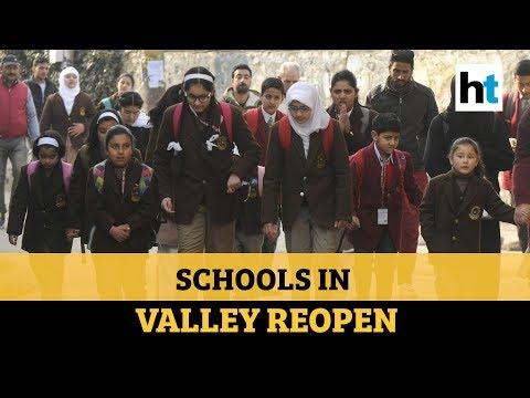 Kashmir: Children return