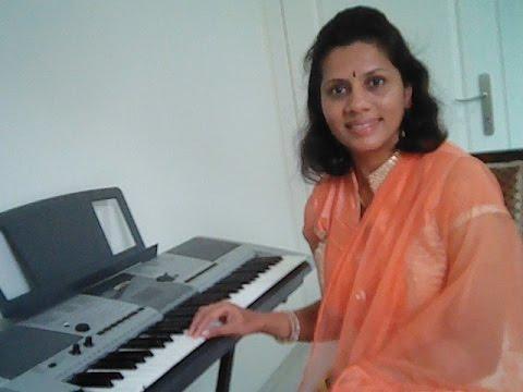 Learn Kannada Songs on Keyboard No 3-Bhagyada Balegara Hogi Baa with Notation