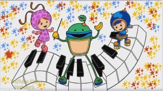 Team Umizoomi Color Episode
