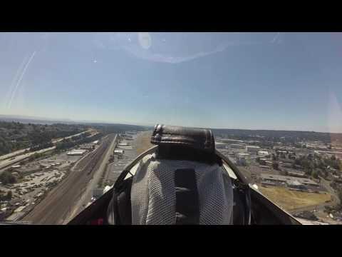 Landing 13L at KBFI