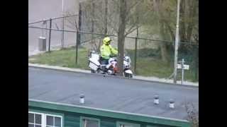 Politie staat te posten wegens schiet incident in Leeuwarden