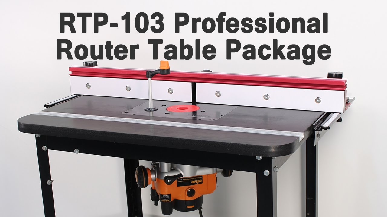 The Ultimate Router Table For Your Shop