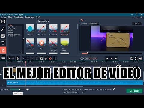 Mejor editor de vídeo para principiantes fácil y potente
