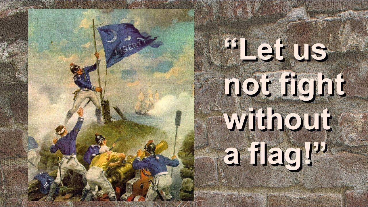 Sgt. Jasper and the South Carolina Flag