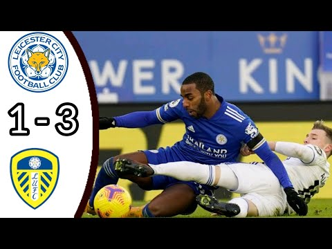 LEICESTER CITY VS LEEDS UNITED, 1 – 3/ ALL GOALS AND EXTENDED HIGHLIGHTS/ PREMIER LEAGUE