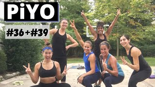 PiYO #36 #39 | Total Body Workout At HOME | No Equipment | Yoga Flow Tone | Group Fitness