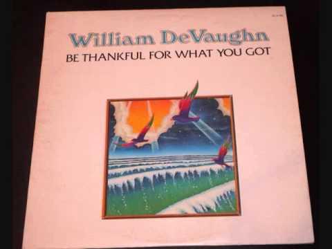 William DeVaughn - Be Thankful For What You Got -  FULL 1974 album