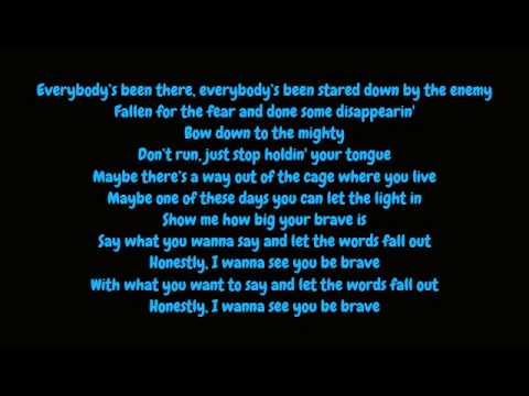 Sara Bareilles - Brave (Lyrics HD)