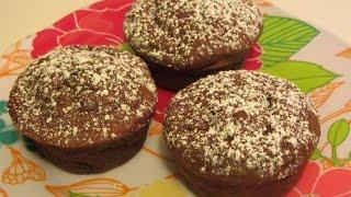 Chocolate ~ Chocolate Chip Ricotta Muffins ~ Gluten Free