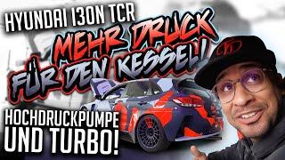 JP Performance - Mehr Druck für den Kessel! | Hochdruckpumpe & Turbo | Hyundai I30N TCR Renntaxi