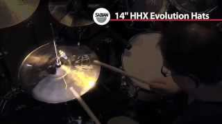 sabian hhx 14 evolution hi hats demo   full compass