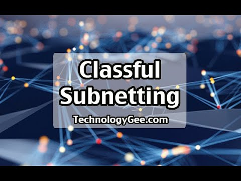 Classful Subnetting | CompTIA Network+ N10-007 | 1.4b