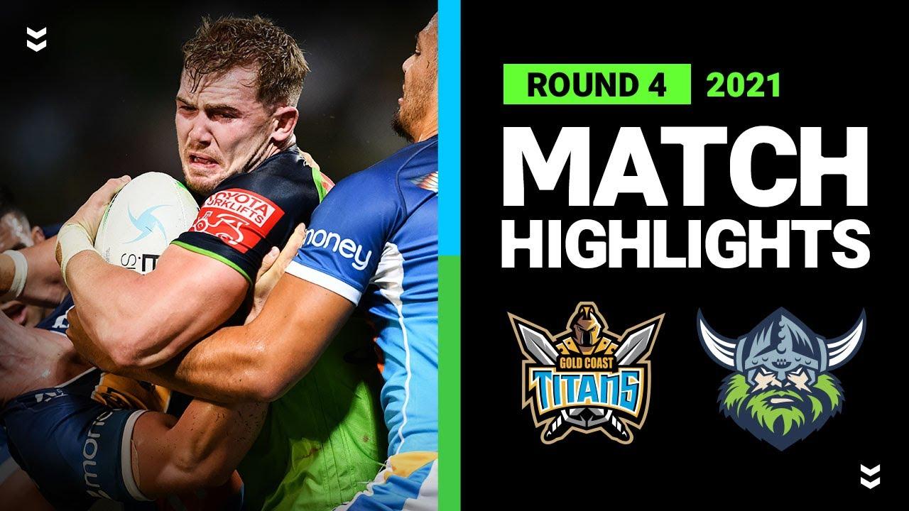 Download Titans v Raiders Match Highlights | Round 4, 2021 | Telstra Premiership | NRL
