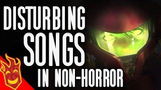 Top Fifteen Disturbing Songs In Non-Horror