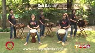 Malinke initation rhythm, Soli