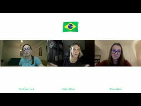 Emily Dobson and Bruna Zanini presenting Getting an EDGE in Brazil: Recruitment and Country Tips