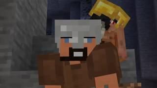 """Minecraft: Oczami Jaskiniowca [NOWE] Odc. 4 - """"Niepokonany jaskiniowiec!"""""""