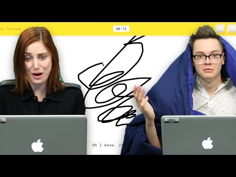 Google QuickDraw AI AMAZINGLY Knows What You're Drawing  Is It Cheating?  SourceFed Plays!