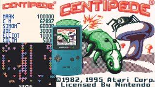 Chris & Mike Plays - Centipede Game Boy Color