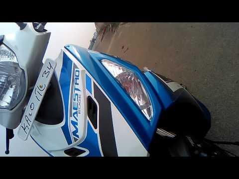 The all new maesto edge  zx in good seep  goo Bangalore to vijayapura ridi 51 km good in Bs4 motors