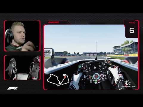 Kevin Magnussen's Virtual Hot Lap Of Silverstone | British Grand Prix