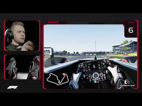 Kevin Magnussen's Virtual Hot Lap Of Silverstone | British Grand Prix