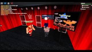Roblox WWE Interviews: Nikki Bella