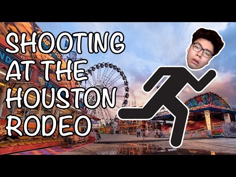 ESCAPING THE SHOOTING AT THE HOUSTON RODEO